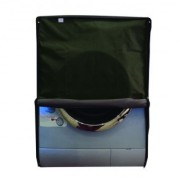Glassiano Green Waterproof Dustproof Washing Machine Cover For Front Load Haier HW55-1010 5.5 kg