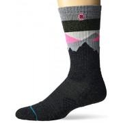 Stance Crew Sock Divide St para hombre, Natural, Medium