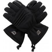 ALPINE PRO KAROG Unisex lyžařské rukavice UGLM013990 černá S