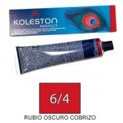 Wella KOLESTON PERFECT Tinte 6/4 tamaño 60ml