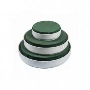 11-00123 Tál tűzőhab műanyag Venezia Schale Weiss m.IDEAL® 0250x45 mm