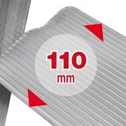 Facal Stufenstehleiter S100 Piu Su Maxi 5 Stufen