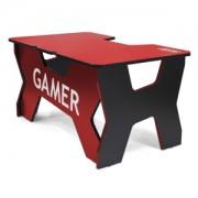 Birou gaming Generic Comfort Gamer2 NR, Red/Black