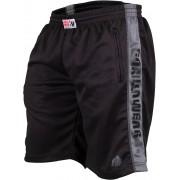 Gorilla Wear Track Shorts Black/Grey - XXL/XXXL