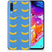 Bumper hoesje Samsung Galaxy A70 Banana