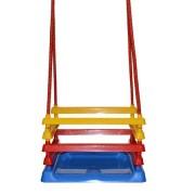 Leagan pentru copii din plastic multicolor