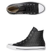 Converse Chuck Taylor All Star Leather Stud Hi Shoe Black