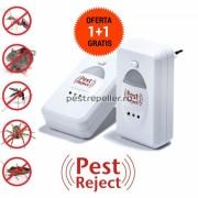 Pest Reject Aparat anti rozatoare si insecte OFERTA 1+1 Gratis