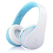 OldShark Foldable Wireless Bluetooth Over-ear Stereo Headphone Headset Earphones Stereo Audio with Hands-free Calling F