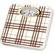 Ruhi Personal Analog Weighing Scale 120 Kg (Brown & White) Weighing Scale(Brown)