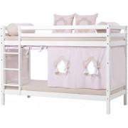 Hoppekids Våningssäng 90 x 200 cm - Hoppekids Fairytale Flower Säng 102822