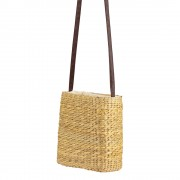 Handmade Natural Water hyacinth Medium Tote Bag
