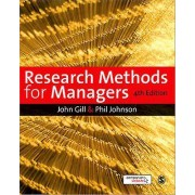 Research Methods for Managers by John Gill & Phil Johnson