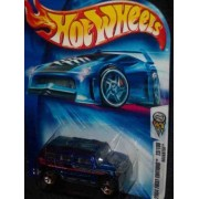 2004 First Editions -#23 Rockster Blue Chrome Grill #2004-23 Collectible Collector Car Mattel Hot Wheels