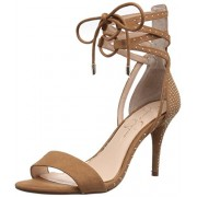 Jessica Simpson Women's Maevi Gladiator Sandal, Honey Brown, 6.5 M US