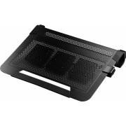 """Stand notebook COOLER MASTER NOTEPAL U3 PLUS, 19"""", aluminiu, 3x ventilatoare 80mm, Black (R9-NBC-U3PK-GP)"""