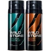 Wild Stone Deodorant Combo for Man (Pack of 2 Pc)-150 Ml Each