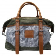Licence 71195 Jumper II Canvas Overnight Bag Khaki LBF10862-KK