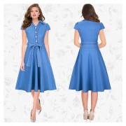 Vestido Casual Venico LIQ1BK17020704 Azul