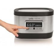 Aparat de gatit Sous Vide Laica SVC200, 700W, Display LED, Touch Sensor (Argintiu/Negru)