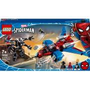 LEGO® Super Heroes Spiderjet contra Robotul Venom