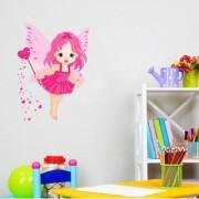 SS creators Small Wall sticker decals pink angel Sticker