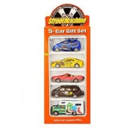 Jain Gift Gallery 5 Pc Set Free wheels Metal Car Gift Set For Gifting