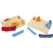 Legler Layer Puzzle Boats Wooden Puzzles
