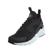 Nike Youth Air Huarache Run Ultra Black White Mesh Trainers 39 EU