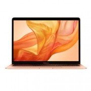 "Лаптоп Apple MacBook Air 13 (2018)(MREE2ZE/A)(златист), двуядрен Intel Core i5 1.6/3.6GHz, 13.3"" (33.78 cm) WQXGA Retina дисплей(Thunderbolt), 8GB LPDDR3, 128GB SSD, 2x Thunderbolt 3, MacOS Mojave, 1.25kg, Анг. клавиатура"
