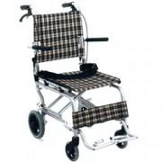 sedia a rotelle / carrozzina pieghevole di dimensioni contenute - 47cm