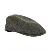 Herringbone Tweed cap