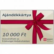 Értéksziget ajándékkártya 10000 Ft értékben