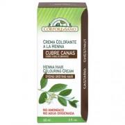 Vopsea henna crema, semipermanenta, Corpore Sano - Castaniu 60ml
