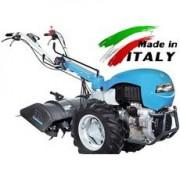 Motocultor Bertolini 418S motor Lombardini Diesel 19 cp , freza de pamant 80 cm , roti pneumatice 6.50x12 '', ecartament reglabil