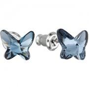 Troli Cercei Butterfly Denim Blue