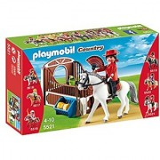 PLAYMOBIL Flamenco Horse with Stall Play Set
