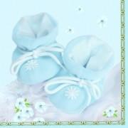 Servetele botez, bleu