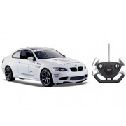 Rastar 1:14 Scale Flat BMW M3 Motorsport Model RC Car (COLOR: WHITE)