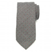 Férfi klasszikus nyakkendő (minta 355) 7170 -tól keverékek hullámdovod és selyem