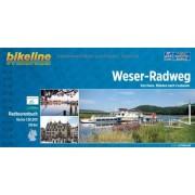 bikeline - Weser-Radweg. Von Hann. Münden nach Cuxhaven, 510 km, Radtourenbuch 1:50 000, GPS-Tracks Download, wetterfest/reißfest - Preis vom 02.04.2020 04:56:21 h