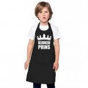 Shoppartners Keukenprins keukenschort zwart jongens - Action products
