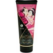 Shunga Erotic Art Massage Cream - Raspberry - crema da massaggio edibile