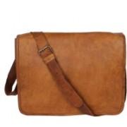 CRAFAT Men & Women Casual Multicolor Genuine Leather Sling Bag