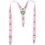 Mr. Zunk Y- Back Suspenders for Boys(Pink)