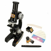 Scientific Eductional Experiment Microscope Set Optical Supplies Science Lab Toy