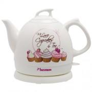 Bestron Sweet Dreams - Keramische waterkoker Cupcake