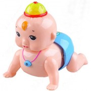 New Pinch Cute Crawling Baby Giggle toddler Musical Toy