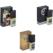 Skyedventures Set of 3 Devdas-Kabra Black-The Boss Perfume