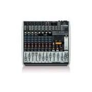 Mesa de Som Behringer QX1222USB de 12 canais c/ efeitos